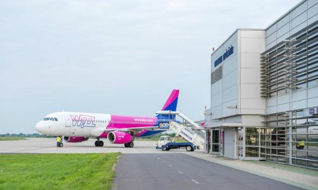 Dinamikusan nő a debreceni repülőtér utasforgalma
