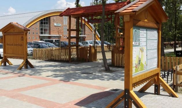 Tószínpad és sípálya is lesz a Csaba Parkban