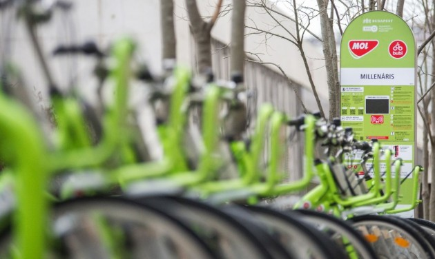 Megkezdődött az új MOL Bubi biciklik tesztelése
