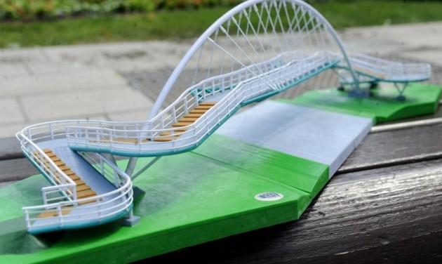 Győr látványossága lesz az M19-es új hídja