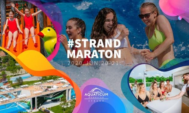 Strandmaratonnal nyílik az új Aquaticum Debrecen