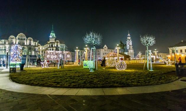 Karácsonyi varázslat Nagyváradon