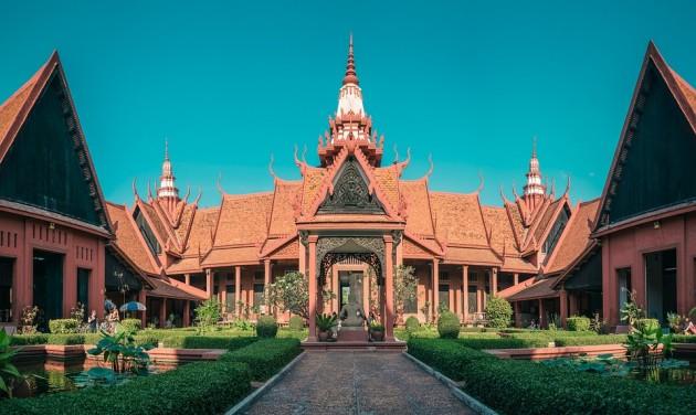 Audió idegenvezetés Kambodzsában