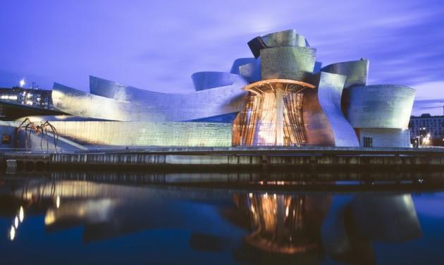 Huszadik évfordulóját ünnepli a bilbaói Guggenheim Múzeum