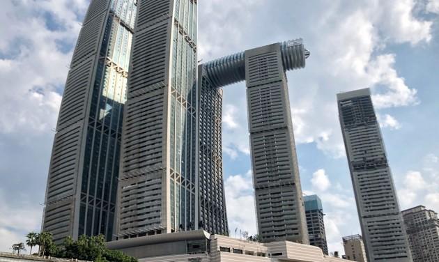 Vízszintes felhőkarcoló épült Kínában