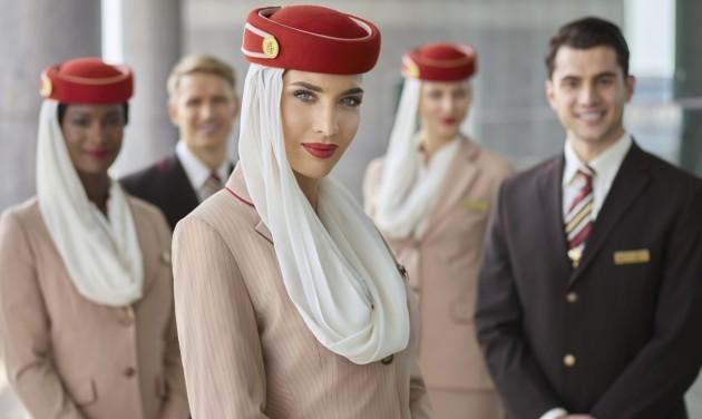 Az Emirates 3000 légiutas-kísérőt és 500 reptéri alkalmazottat toboroz