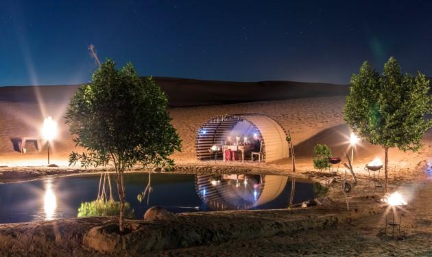 Dubaj extravagáns esküvői helyszínei