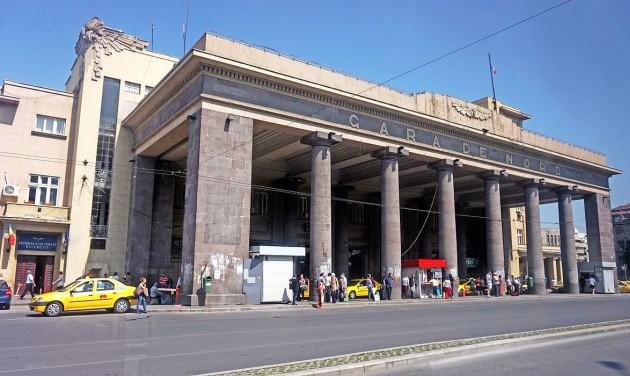 Épül a reptéri vasútvonal Bukarestben