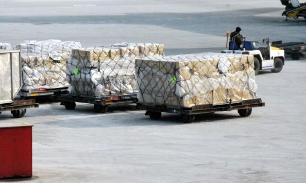 Csökkent a légi áru-, és utasforgalom bővülési üteme