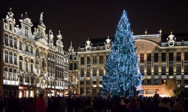 Brüsszelben megtartják az idei karácsonyi vásárt
