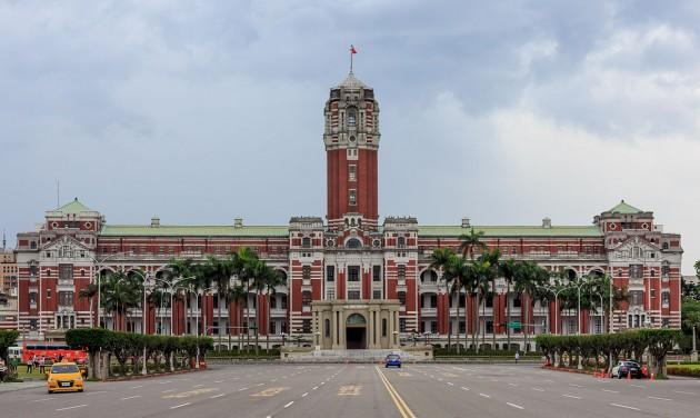 Töltsön egy éjszakát az elnöki irodaépületben Tajvanon!