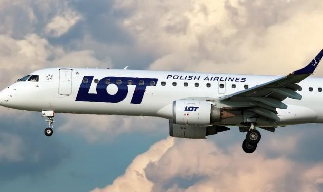 Meglepő: két új európai fővárosba indít járatot a LOT Budapestről