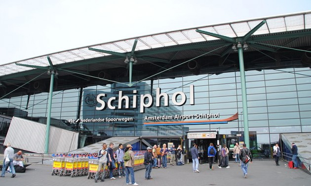Zárva van Schipol