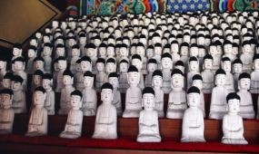 Töredékek – templomok Koreában