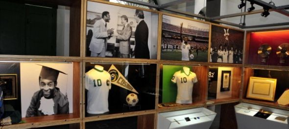 Pelé múzeum nyílt
