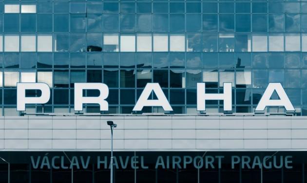Nagyon jól teljesített tavaly a prágai reptér