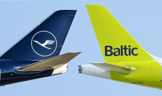 Codeshare-megállapodást kötött az airBaltic és a Lufthansa