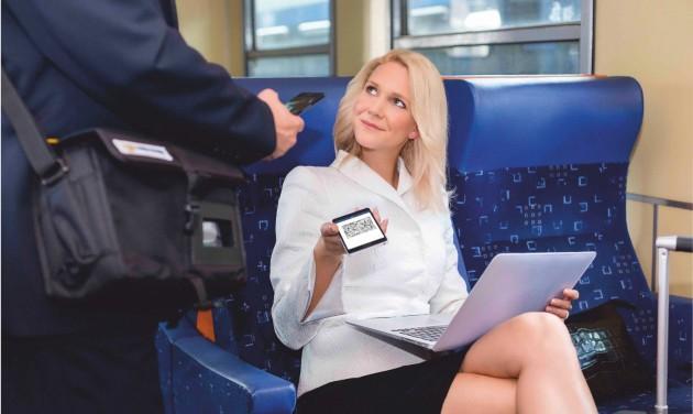 Bejön az utasoknak az e-vonatjegy