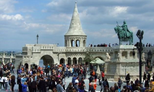 Januárban csaknem 10%-kal emelkedtek a turisztikai bevételek