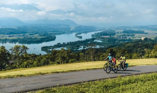 Élménykerékpározás és egy stadionnyi erdő Karintiában