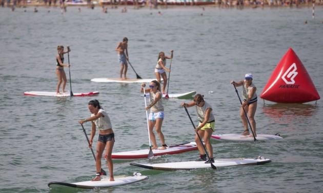 Lignano Sabbiadorón is a SUP a nyár slágersportja