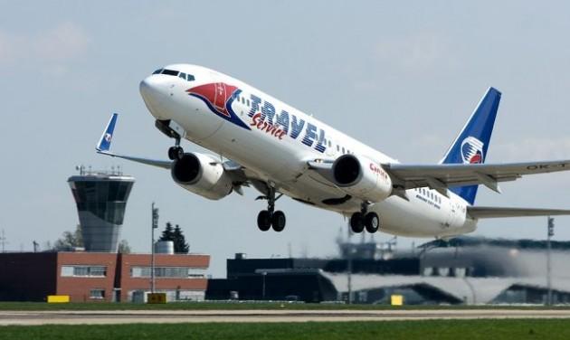 A Boeing legújabb repülőgépe a Travel Service flottájában