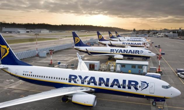 Budapesti csatlakozások a Ryanairtől