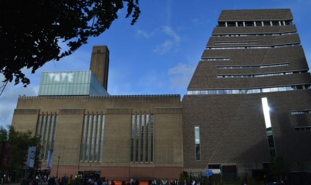 Trónfosztó Tate Modern – angol attrakciók toplistája