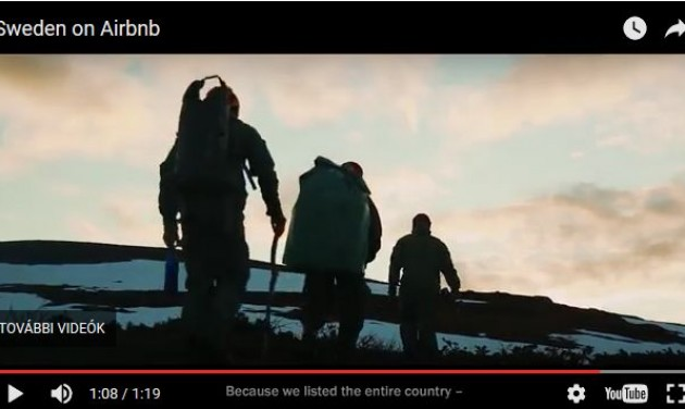 A hét videója: Svédország feltette magát az Airbnb-re