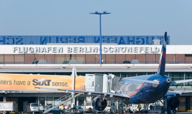 Minden Berlin–Budapest légi járatot töröltek hétfőn
