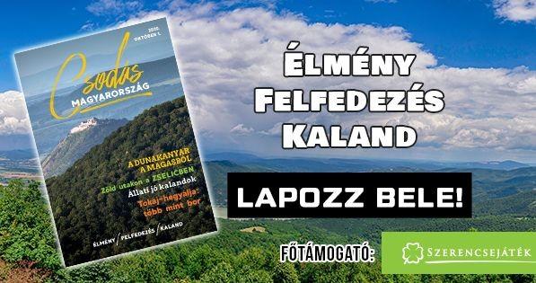 Itt a Csodás Magyarország magazin októberi száma!