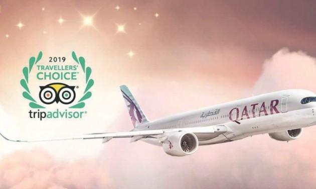 Tripadvisor-díjeső a Qatarnak