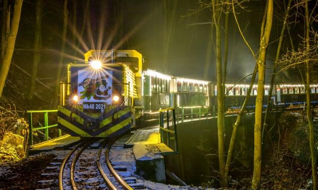 Több mint húszezren a lillafüredi Mikulás-vonatokon