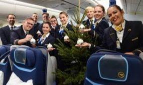 Karácsonyfát vitt Rioba a Condor