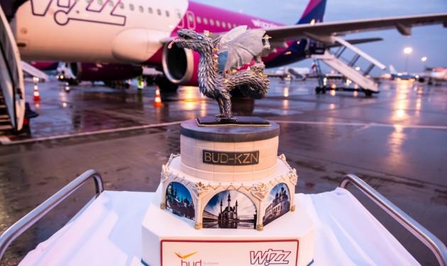 Tatárföld fővárosába indított járatot a Wizz Air