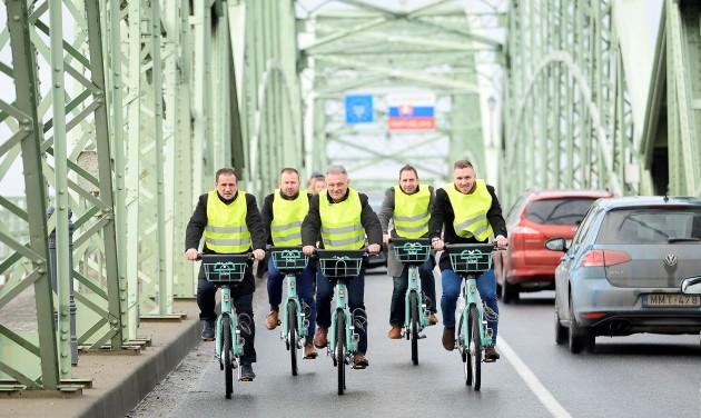 Határtalan bringakölcsönző Párkányban és Esztergomban