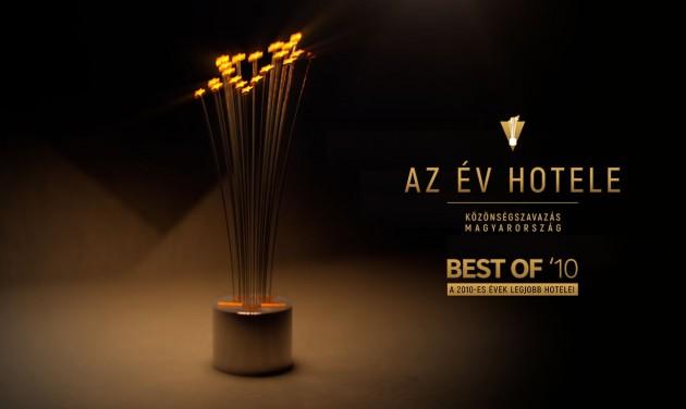 A 2010-es évek legjobb szállodáival indul Az Év Hotele közönségszavazás