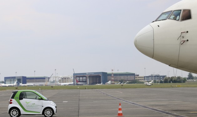 Karbonsemleges Budapest Airport