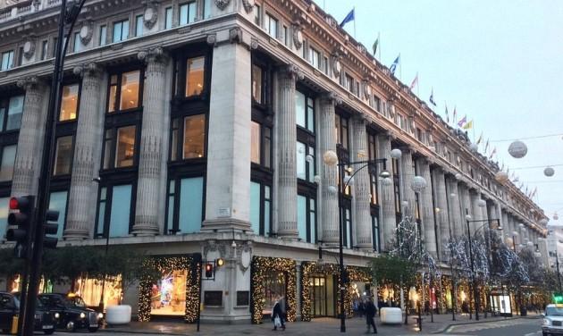Londonban már karácsony van