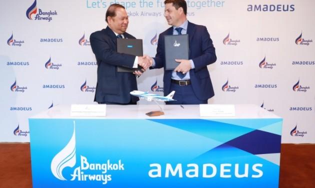Az Amadeust választotta technikai megújulásához a Bangkok Airways