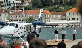 Hidroplánnal a horvát szigetekre