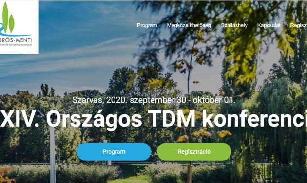 Hétfőig lehet regisztrálni a XXIV. Országos TDM konferenciára