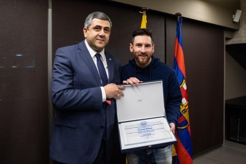 Az UNWTO nagykövete lett Lionel Messi