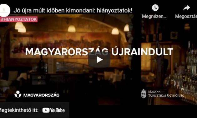 Hiányoztatok! – Kisfilmben ünneplik az újraindulást a szakma szereplői