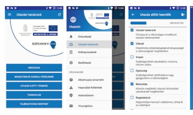 Kozinfo Utazom: mobilalkalmazáson a konzuli segítség