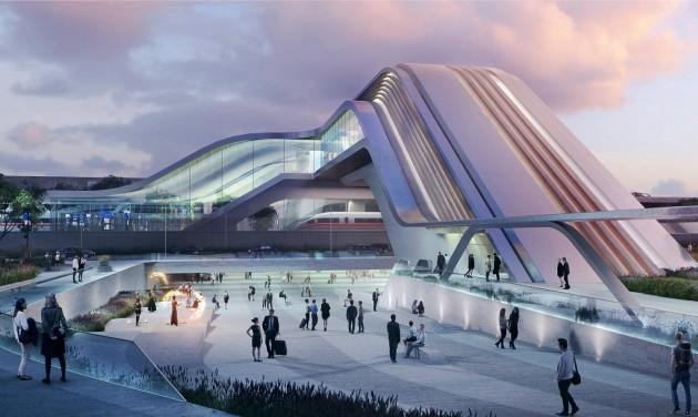 Ilyen lesz Tallinn futurisztikus pályaudvara