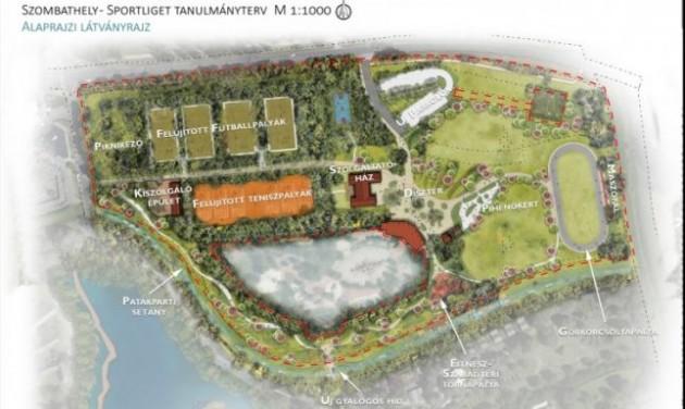Kibővítik Szombathely legnagyobb sportparkját