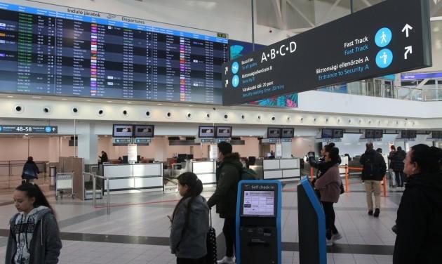 Budapest Airport: 16,2 millió utas, 135 ezer tonna áru 2019-ben