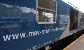 Egy hétig ingyen szállítja a kerékpárokat a MÁV-Start