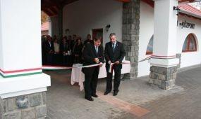 Látogatóközpontot avattak Badacsonytördemicen